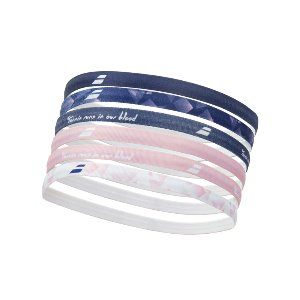 ELASTIC WOMEN HEADBAND 6P 2020 바볼랏헤어밴드 PEACH BLUE