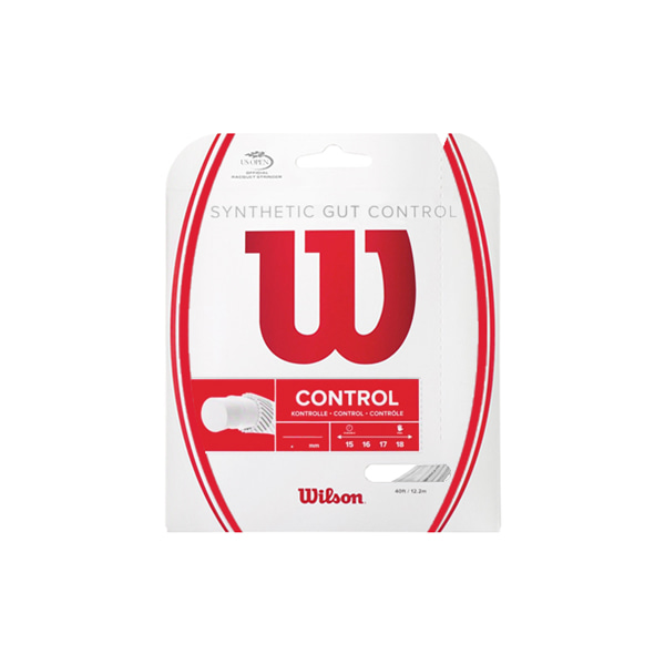 단품 SYNTHETIC GUT CONTROL 윌슨스트링 WH